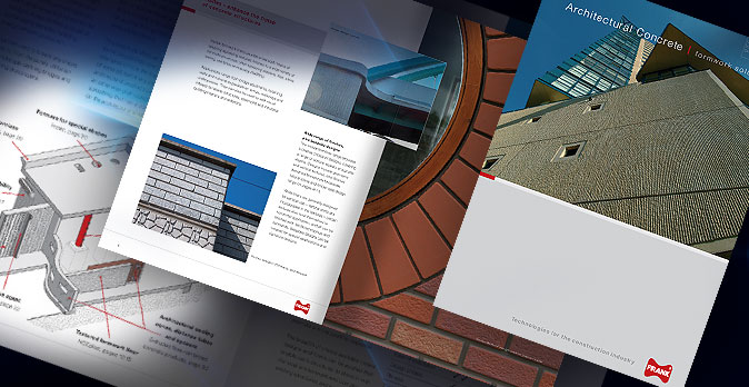 Product brochure design and production for FRANK Group