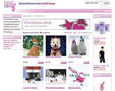 Breast Cancer Care -ecommerce online shop