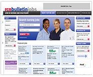RCN Bulletin Jobs recruitment website re-design